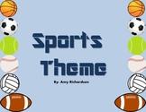 Sports Theme Classroom