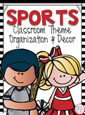 Sports Theme Classroom Kit EDITABLE