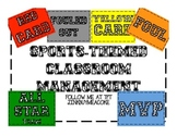 Sports-Theme Classroom Management (soccer)