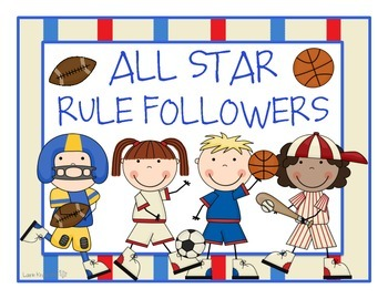 Sports Theme Classroom Rules
