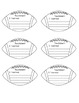 Sports Theme Exit Tickets Improved!