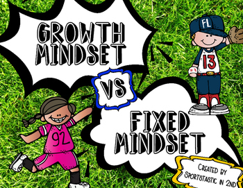 Sports Theme Growth Mindset [Posters]