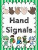 Sports Theme - Hand Signal Chart