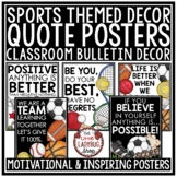 Sports Theme Motivational Posters Back to School Bulletin