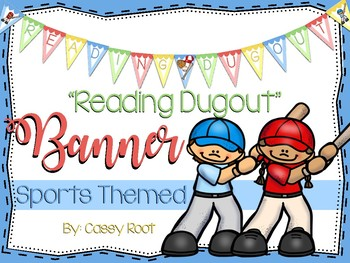 """Sports Theme """"Reading Dugout"""" Banner"""