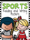 Sports Theme Reading and Writing Posters