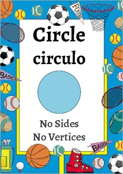 Classroom Decor- Sports Theme Shape Posters