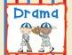 Sports Theme Subject Signs (Classroom Decor)