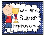 Sports Theme - Super Improvers Wall