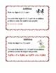 Sports Theme Task Cards Grades 3-4