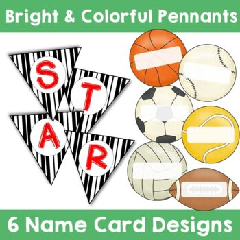 Sports Theme:  Welcome Banner (Editable)