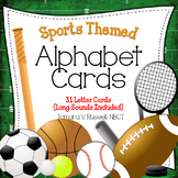 Alphabet Posters {Sports Themed}