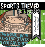 Sports Themed Back to School About Me Flipbook