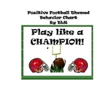 Sports Themed Behavior Chart