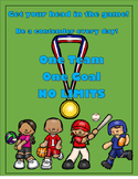 Sports Themed Character Trait Posters