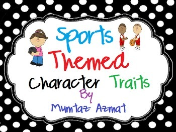 Sports Themed Characters Traits :