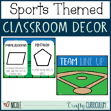 Sports Themed Classroom Decor Bundle