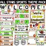 Classroom Decor - Sports (Editable)