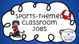Sports-Themed Classroom Jobs