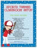 Sports Themed Classroom Setup