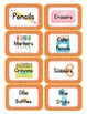 Sports Themed Classroom Supply Tags