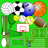 Sports Themed Clip Art