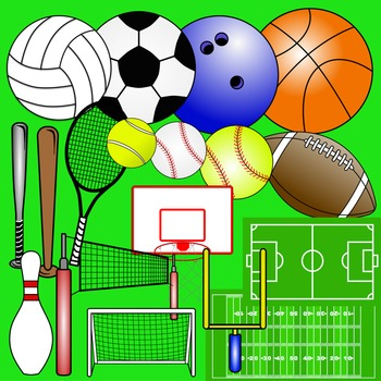 Sports Themed Clip Art