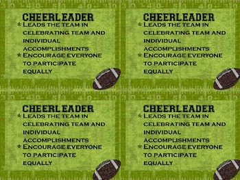 Sports Themed Cooperative Group Roles