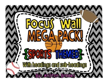 Sports Themed Focus Wall Mega Pack