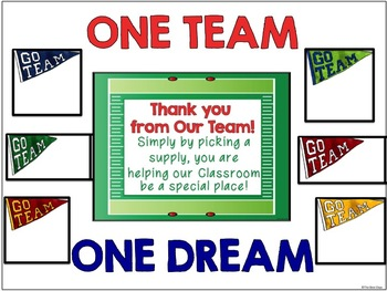 """Sports Themed """"Giving Tree""""/ Wish List Donations"""