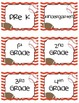 Sports  Themed Grade Level Labels