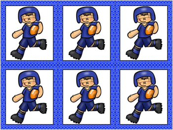 Sports Themed Grouping Cards