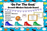 Sports Bulletin Board with Growth Mindset Theme