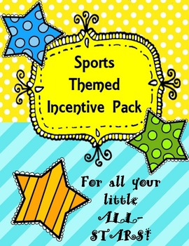 Sports Themed Incentive Boards: For all your little All-Stars!
