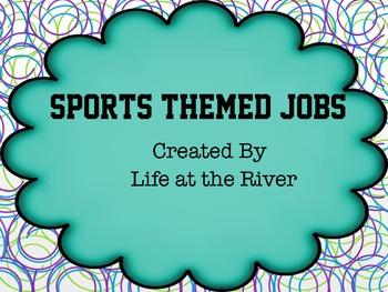 Sports Themed Jobs