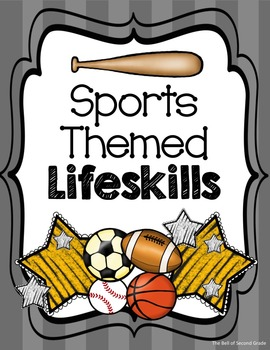 Sports Themed Lifeskills Posters Gy/Y {Other colors available by request}