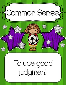 Sports Themed Lifeskills Posters {Other colors available by request}