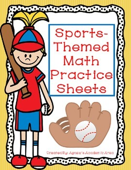 Sports Themed Math Practice