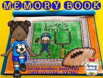 Memory Book Sports Theme
