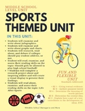 Sports Themed Learning Unit: English Language Arts: Middle School