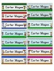 Sports Themed Editable Name Plates / Desk Plates /  Name tags