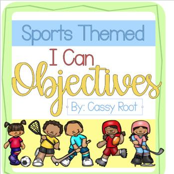Sports Theme Objectives