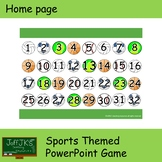 Sports Themed PowerPoint Game