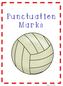 Sports Themed - Punctuation Posters
