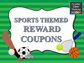 Sports Themed Reward Coupons