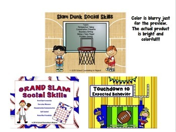 Sports Themed Social Skills Bundle