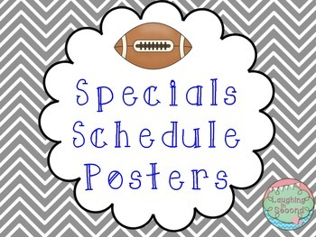 Sports Themed Specials Posters