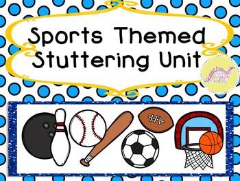 Sports Themed Stuttering Unit