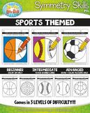 Sports Symmetry Skill Activity Pack {Zip-A-Dee-Doo-Dah Designs}