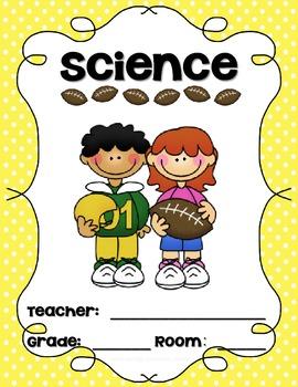 Sports Themed Teacher Binder Covers